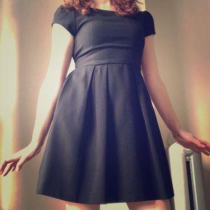 Zara Baby Doll Black Dress
